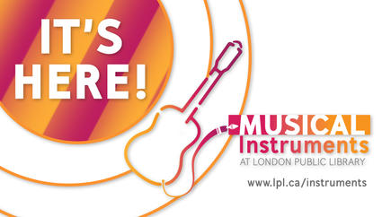 Musical Instruments Lending is here!