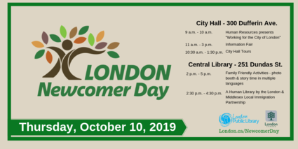 Newcomer Day October 10, 2019