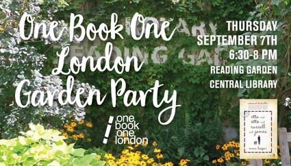 one book one london garden party