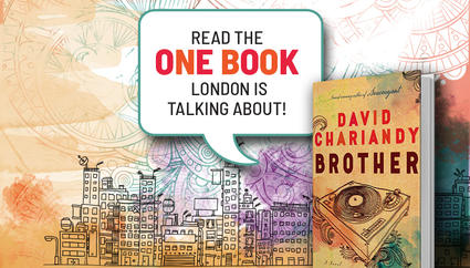 One Book One London 2018 title Brother by David Chariandy