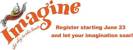 imagine the sky is the limit register starting June 23 and let your imagination soar